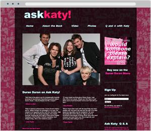 Ask Katy Book Website
