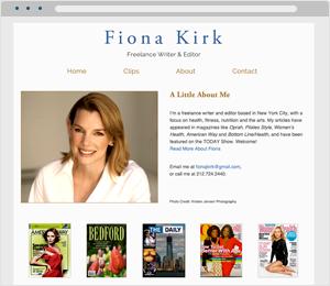 Fiona Kirk Author Website