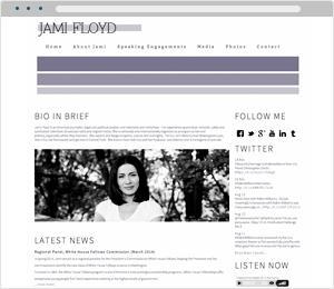Jami Floyd Author Website