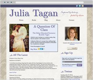 Julia Tagan Author Website