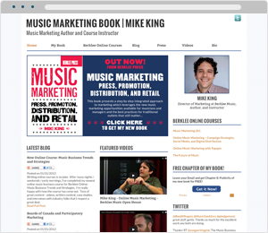 Mike King Author Website