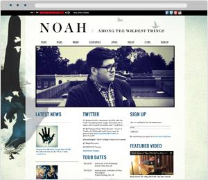 Noah Guthrie Musician Website